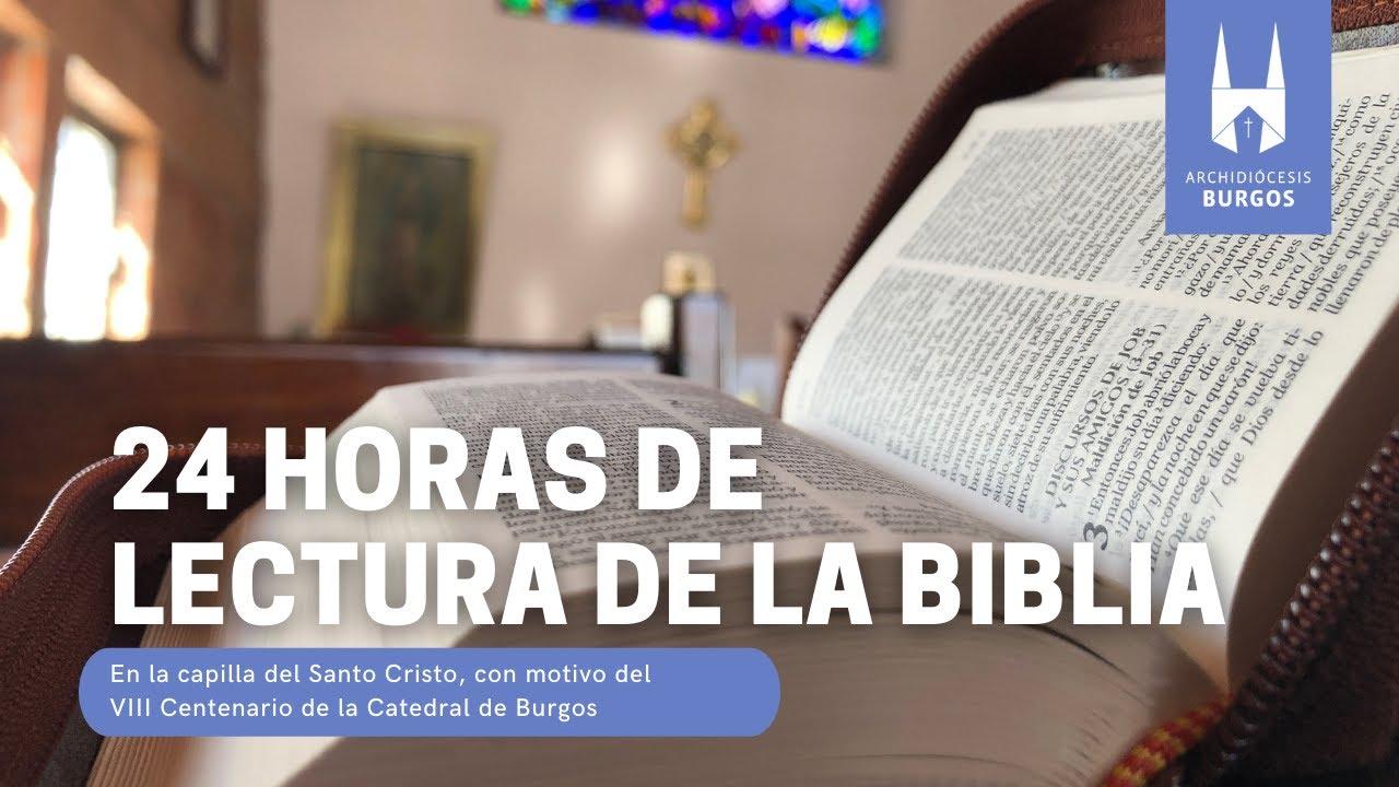 Miniatura 24 h de lectura de la Biblia