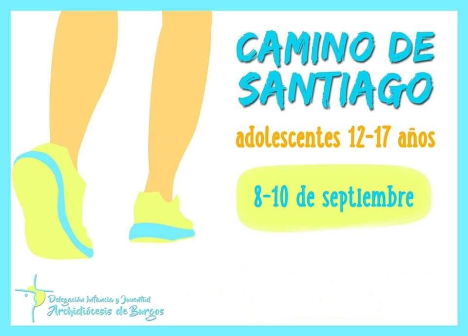 Camino de Santiago para adolescentes