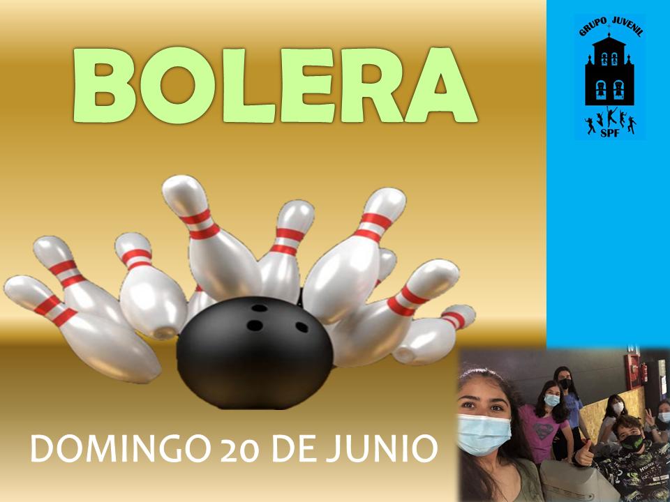 Cartel -La Bolera-